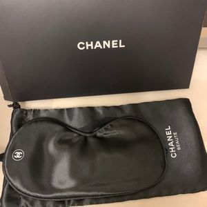New with box CHANEL eye cover mask black vip gift